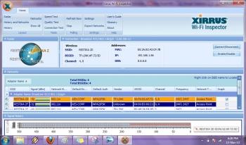 Monitoring Wifi dengan Menggunakan Xirrus Wifi Inspector
