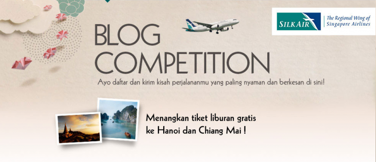 Kompasiana-SilkAir Blog Competition