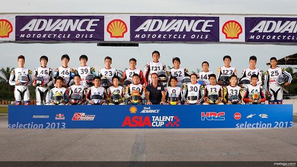 Tiga Pembalap INA Tampil di Asia Talent Cup 2014