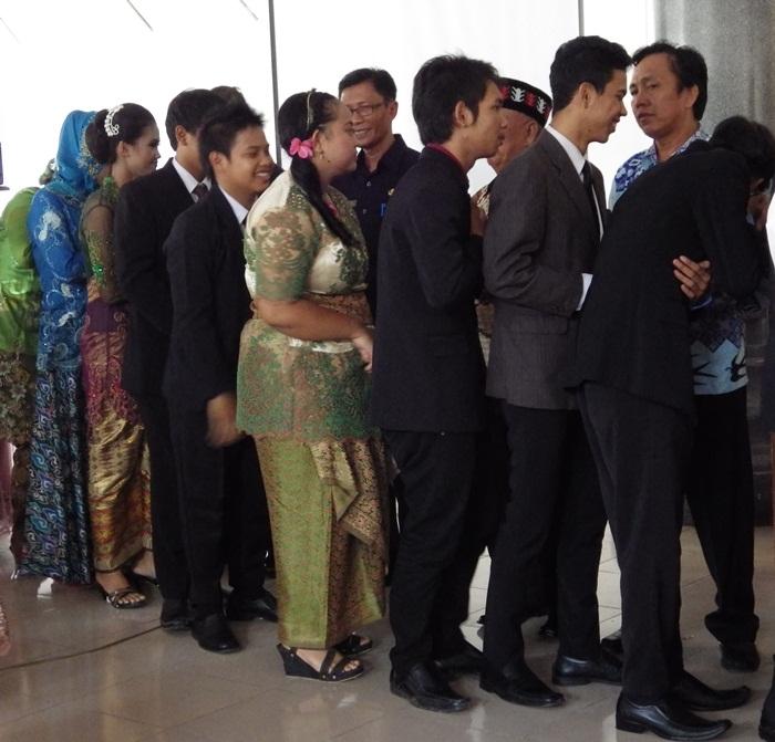 Pelepasan Siswa/Siswi Kelas XII SMAN 2 Metro Lampung