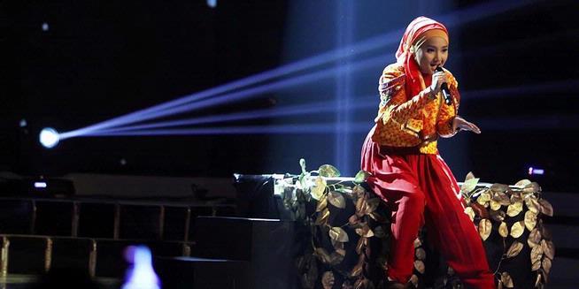 Gala Gila Panggung Grand Final X Factor  Mengantar Kemenangan Fatin Shidqia Lubis