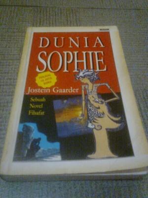 Dunia Sophie: Ini Buku yang Indah