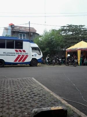 """Perpanjangan SIM melalui """"Layanan SIM Keliling"""" di Bekasi"""