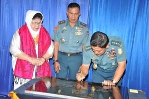 Kasal Resmikan Gedung Muntaram di Mako Marinir
