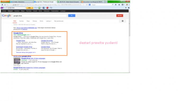 Cara Menginstal Google Document