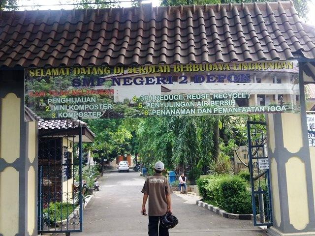 SMP Negeri 2 Depok, Sekolah Berbudaya Lingkungan