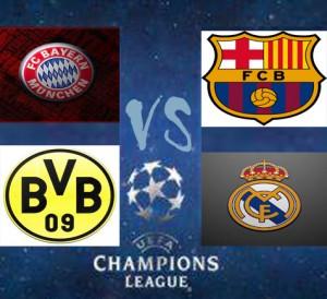 "Semifinal Liga Champions ""Jerman vs Spanyol"""