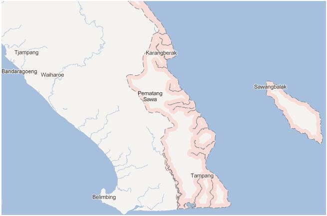 Kecamatan Pematang Sawa, Kabupaten Tanggamus. Lampung
