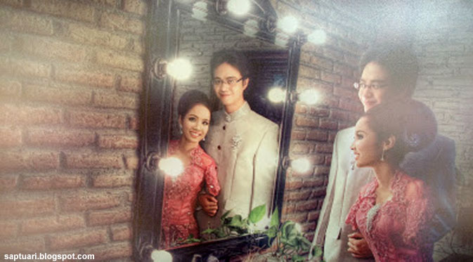 Reza Hilyard - Putri Herlina, Pasangan Terhebat Tahun Ini