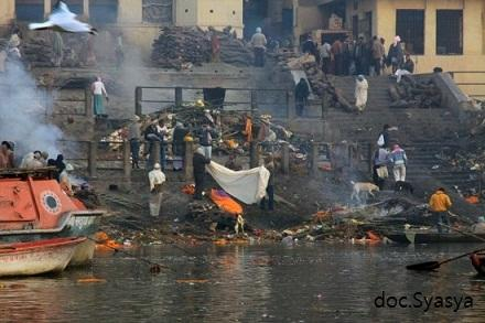 Di India Air Sungai Gangga Suci tapi Kotor