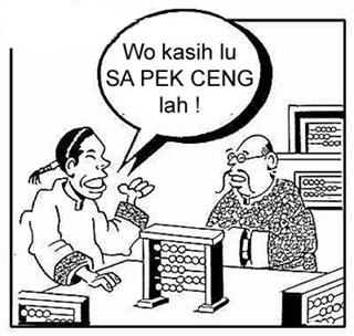 Menghitung duit ala Jakarta