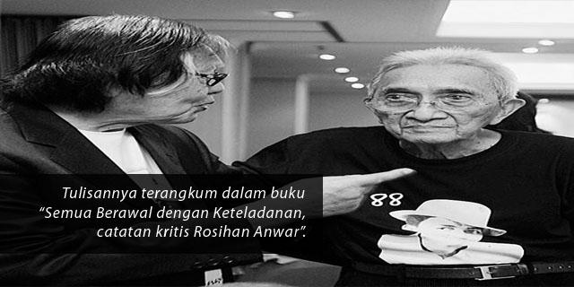 Mengenang dan Mengenal Rosihan Anwar lewat Karya-karyanya