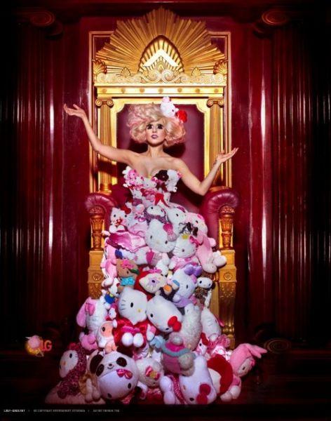 Pesan-Pesan Syetan Dalam Lagu Lady Gaga (Foto)