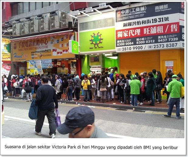 Ada Kursus Merias Pengantin di Victoria Park Hong Kong...