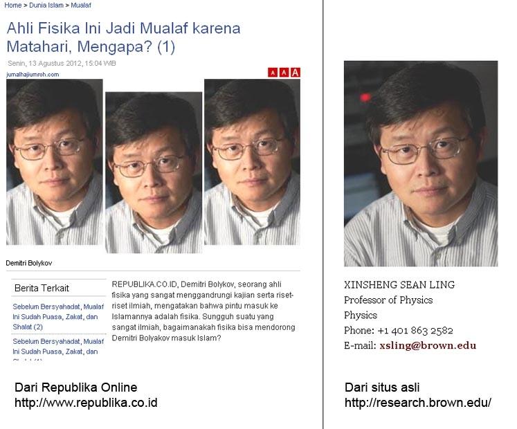 Setelah Foto Palsu Rohingnya, Kini Profil Mualaf Palsu Muncul di Media Online Mainstream