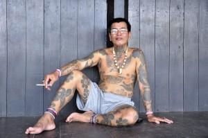 Panglima Perang Suku Dayak Iban Kalimantan Barat