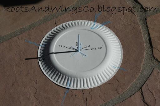 Membuat Jam Tanpa Baterai (1) Jam Matahari