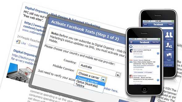 Cara 'Ngintip' Status Pacar di FB Setiap Saat melalui SMS