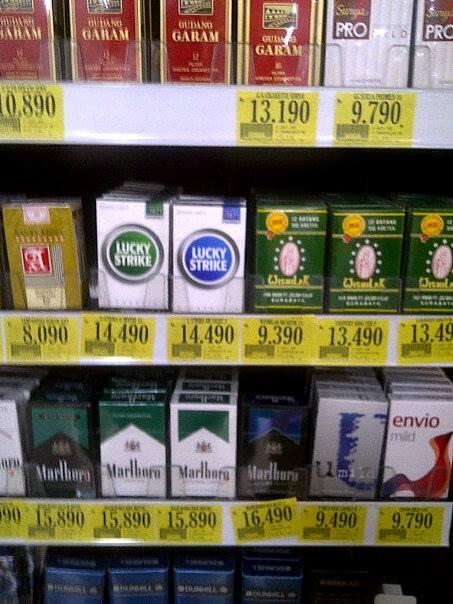 Rokok Murah? Ya di Indonesia!
