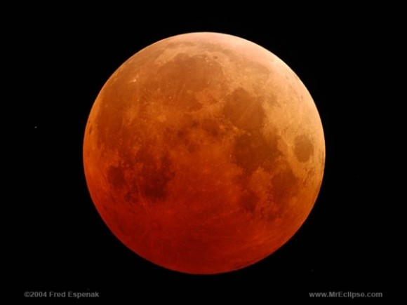 14-4-2014 Gerhana Bulan Berwarna `Merah Darah` Serta Kejadian yang Mengiringinya