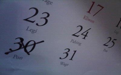 Kalender 2013 Berlimpah Harpitnas, Banyak Waktu Luang Buat Libur Panjang