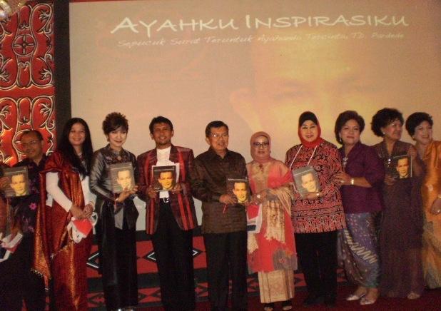 """Jusuf Kalla: """"Ayahku Inspirasiku"""" (TD. Pardede) adalah Seorang Visioner"""