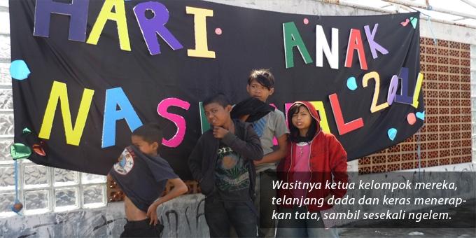 Hari Anak Nasional, Hari Anak Ngelem di Jalanan