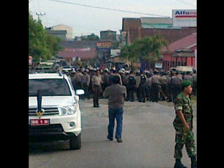 Photo Kerusuhan Sidomulyo Lampung Selatan
