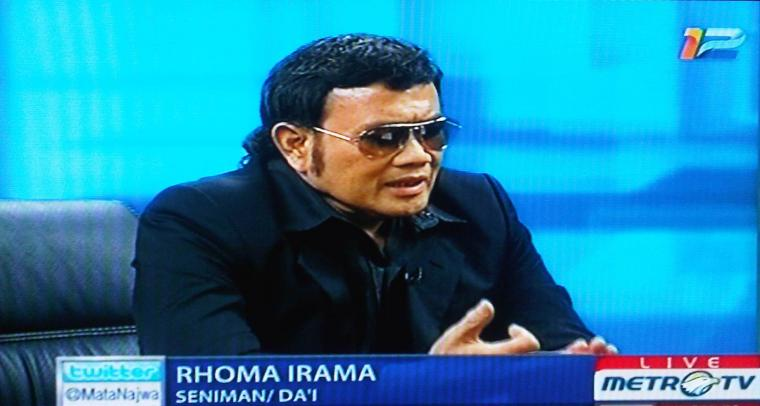 "Rhoma Irama Mendadak Capres: Dagelan di ""Mata Najwa"""