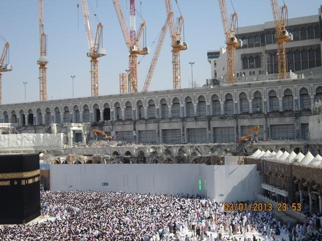 Serambi Lama Masjidil Haram Masa Turky Utsmani Dibongkar