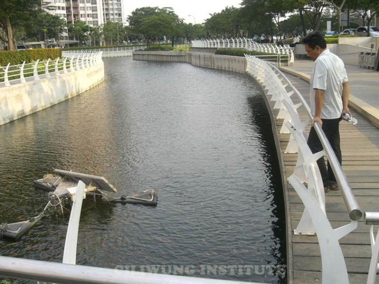 Teknologi Rekayasa Pengelolaan Air Sungai Ada di Jakarta