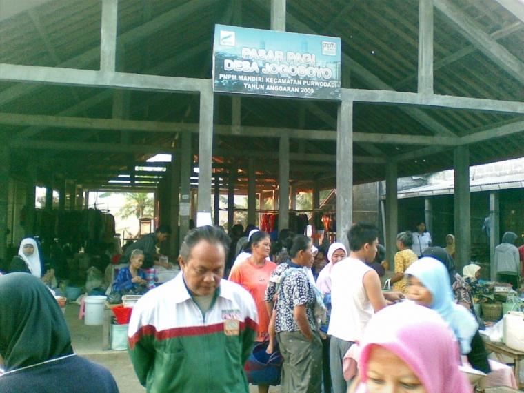 Pasar Pagi Congot, Belanja Asyiik Murah Meriah..
