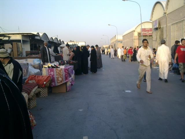 Pasar Tumpah di Riyadh
