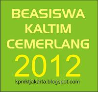 Pengumuman Penerima Beasiswa Kaltim Cemerlang 2012