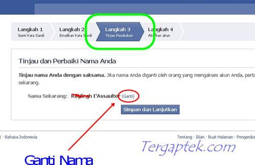 Mau Ganti Nama di Facebook tapi Tidak Berhasil? Ini Caranya!