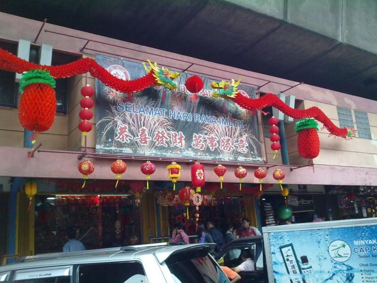[Imlek] Semarak Kawasan Pecinan Menyambut Tahun Baru China