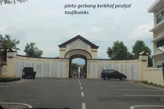 Wow! Banyak Salah Tulis di Kerkhof Peutjut Banda Aceh