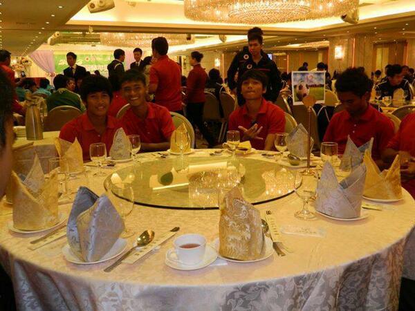 Foto-foto Kenangan Timnas U-17 pada HKFA 2012