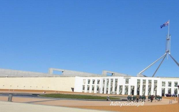 Siapa Takut Wisata ke Gedung MPR-DPR di Canberra!