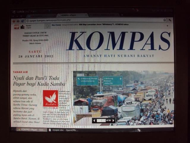 E-Paper, Bisa Baca Koran Lebih Pagi dari Daerah Terpencil