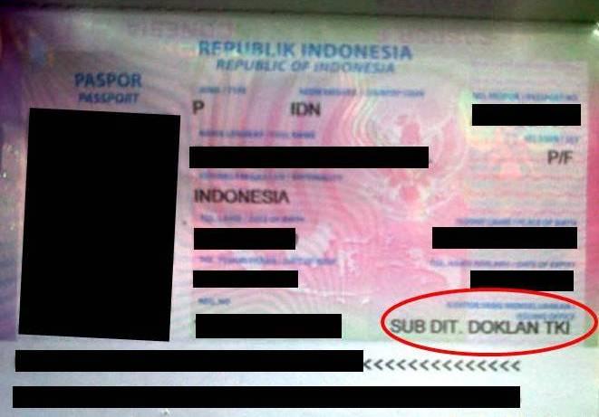 Mengincar Pemegang Paspor TKI di Bandara Soeta