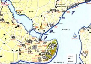 Beberapa Obyek Wisata di Kota Tua Istambul