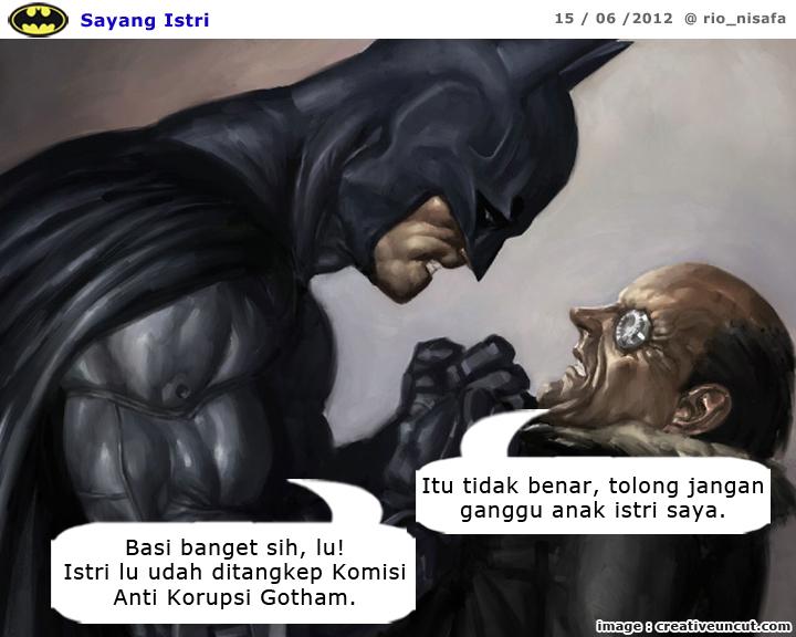 Parodi Batman 139 - Sayang Istri