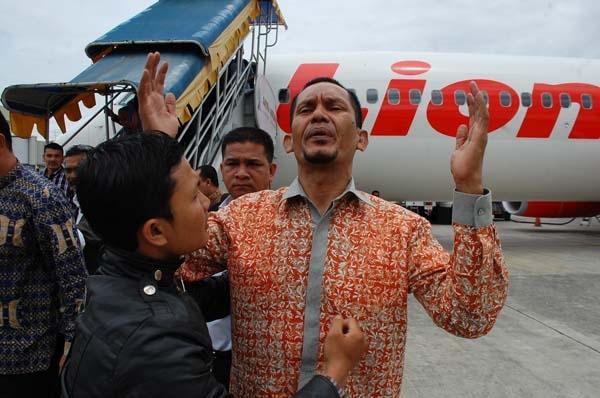 Teroris Asal Aceh Disambut bak Pahlawan