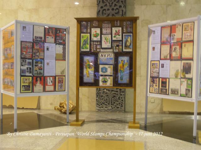 Menjelang 'World Stamps Championship 2012' : Koleksiku dalam Filateli Kreatif