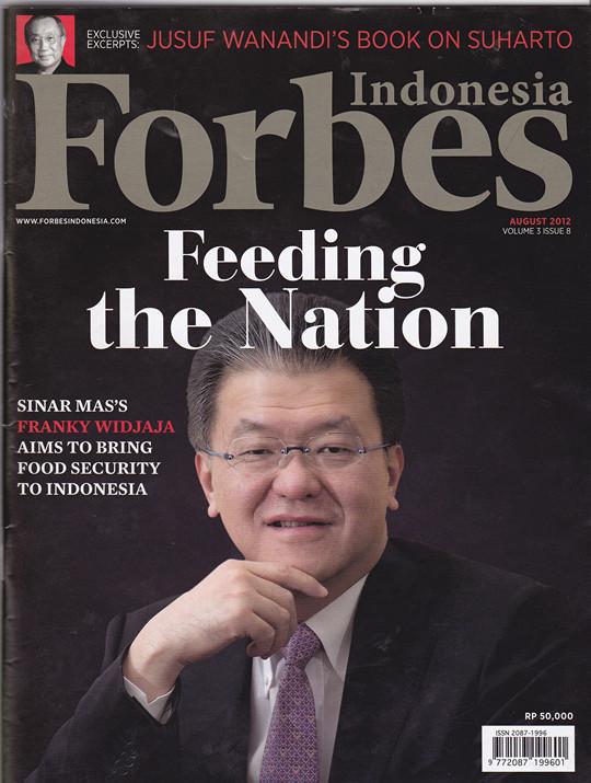 Majalah Forbes Menulis, Keberhasilan Bupati Mamuju H. Suhardi Duka