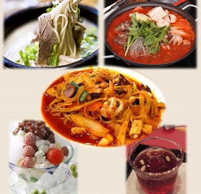 Berbagai Makanan Korea yang Enak