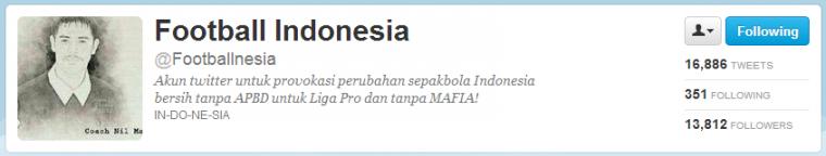 @Footballnesia: Akun Sepak Bola atau Politik Bayaran