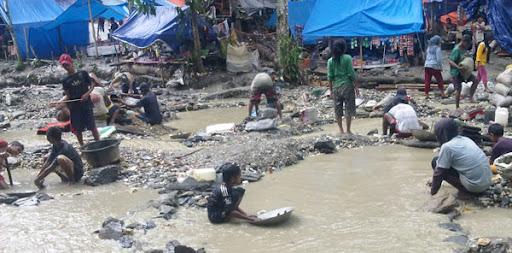Sungai-sungai di Pulau Buru Tercemar Limbah Mercury