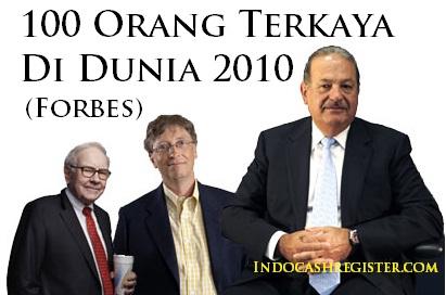 3 Orang Terkaya Dunia versi Majalah Forbes 2012